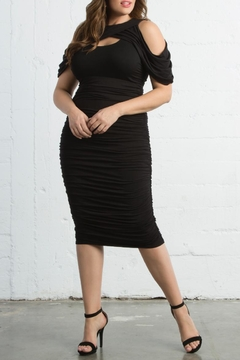 Shoptiques Product: Ruched Bodycon Dress