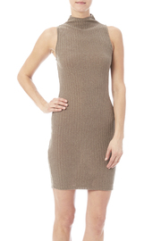 KLD Knit Mocha Dress - Product Mini Image