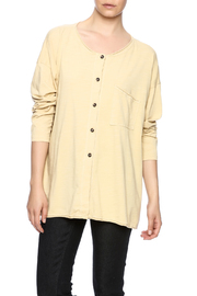Kleen Button Up Boxy Top - Product Mini Image