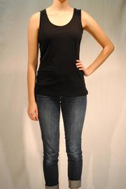 Kleids Silky Black Tank - Product Mini Image