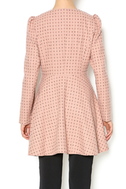 Kling Blush Car Coat - Back cropped