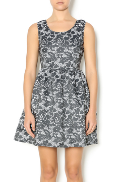 Shoptiques Product: Grey Floral Dress