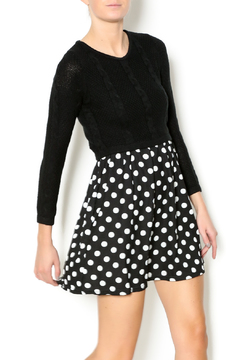 Shoptiques Product: Polka Dot Knit Dress