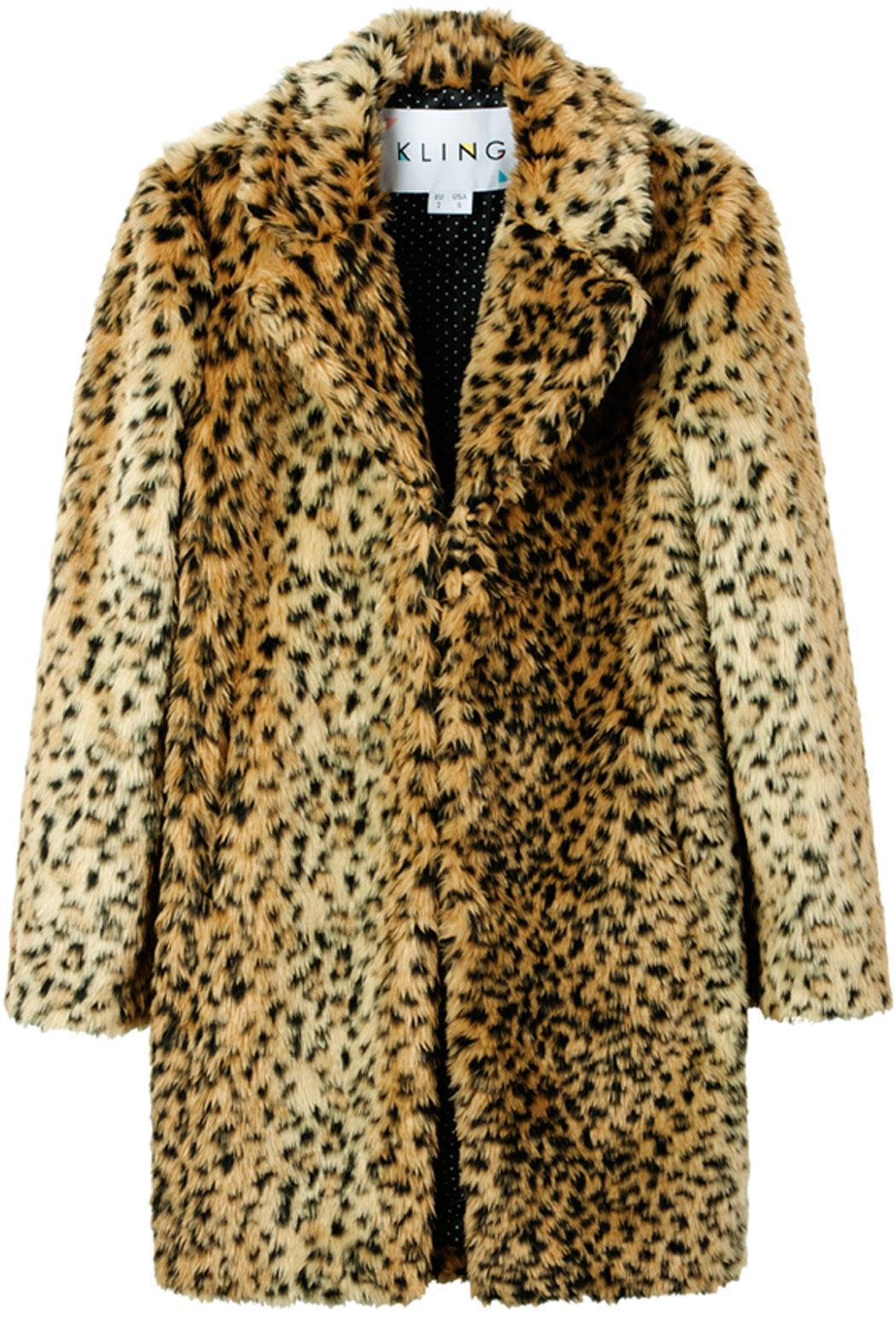 Kling Ursa Cheetah Coat - Main Image