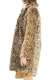 Kling Ursa Cheetah Coat - Side cropped