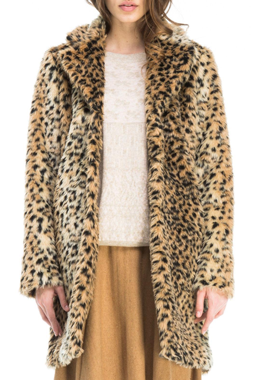 Kling Ursa Cheetah Coat - Front Full Image
