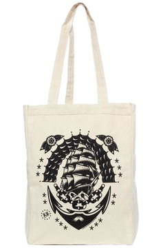 Sourpuss Klipper Ship Tote-Bag - Product List Image