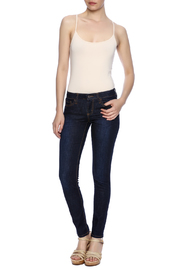 Klique B Dark Rinse Skinny Jean - Front full body