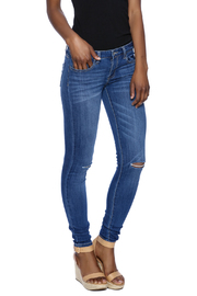 Klique B Knee Slit Skinny Jean - Product Mini Image