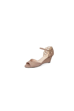 Shoptiques Product: Karina Suede Wedge Taupe