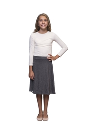 Karen Michelle Km Skater Skirt - Front full body
