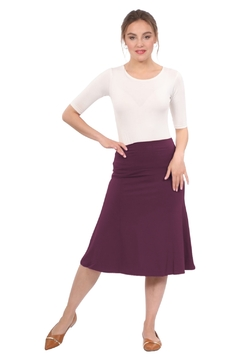 Kosher Casual Knee Length A-Line Skirt for Women - Product List Image