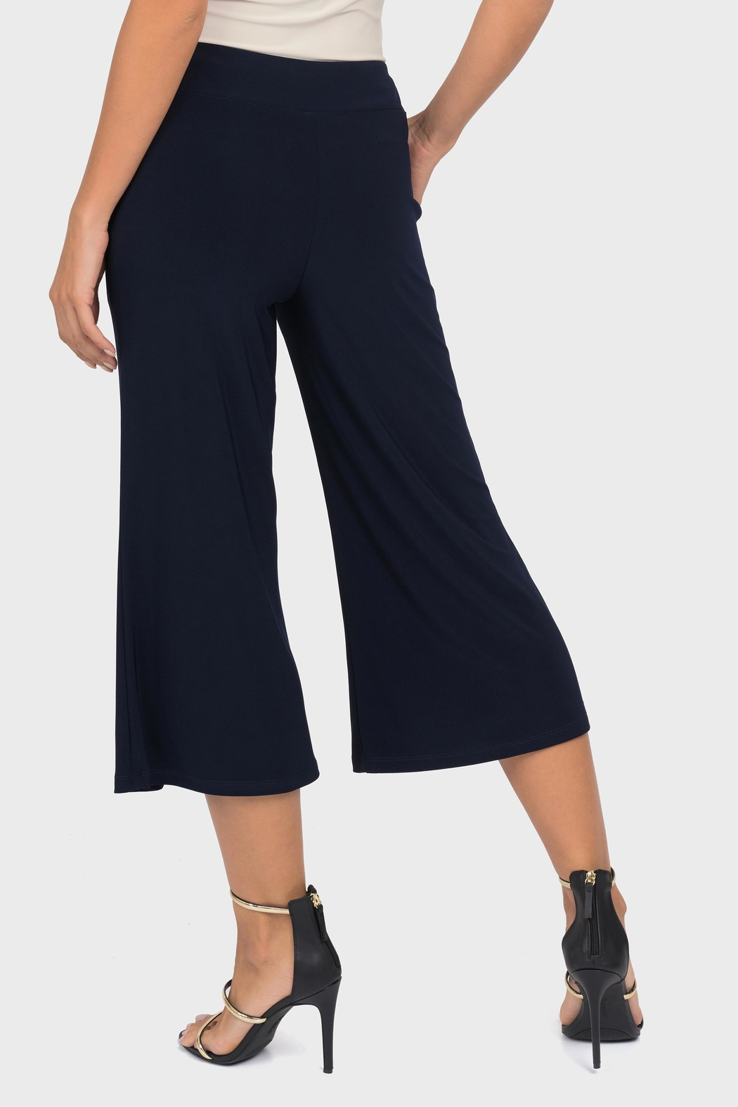 Joseph Ribkoff Knee Length Gaucho - Side Cropped Image