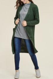 Reborn J Knee Length Ultra Soft & Warm Cardi - Product Mini Image