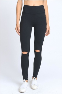 Shoptiques Product: Knee Slit Legging