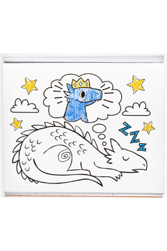 Ooly Knights and Dragons Coloring Book - Alternate List Image