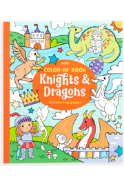 Ooly Knights and Dragons Coloring Book - Product Mini Image
