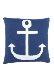 Wooden Ships Knit Anchor Pillow - Product Mini Image
