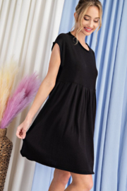 eesome Knit Babydoll Dress - Product Mini Image