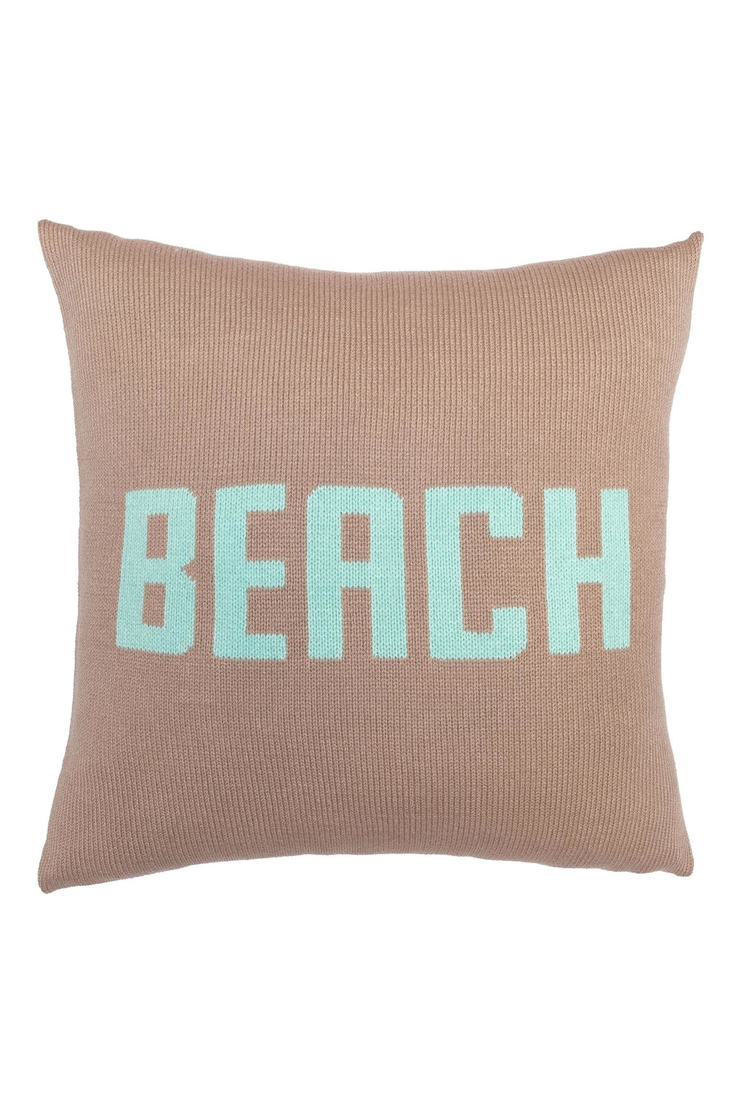 Wooden Ships Knit Beach Pillow - Front Cropped Image