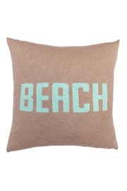 Wooden Ships Knit Beach Pillow - Front cropped