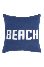 Wooden Ships Knit Beach Pillow - Product Mini Image
