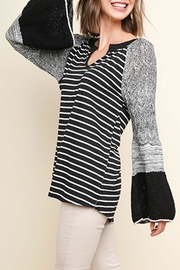 Umgee USA Knit Bell-Sleeve Top - Product Mini Image