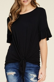 annabelle Knit Bell-Sleeve Top - Front cropped