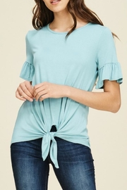 annabelle Knit Bell-Sleeve Top - Product Mini Image