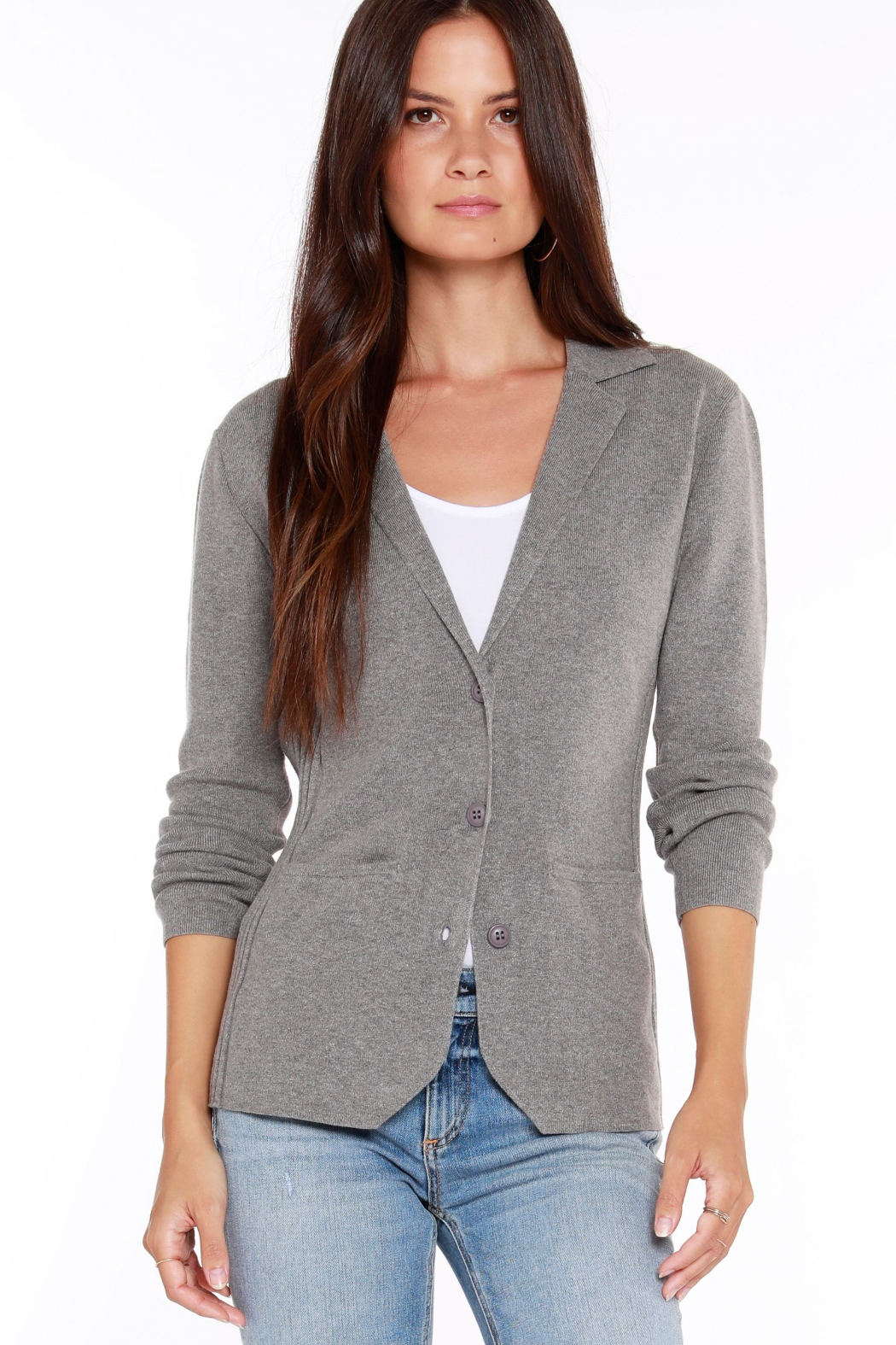 Bobi Los Angeles Knit Blazer - Main Image