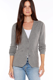 Bobi Los Angeles Knit Blazer - Front cropped