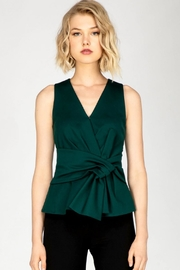 Adelyn Rae Knit Bow Top - Front cropped