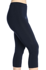 Michael Tyler Collections Knit Capri Basic Legging - Side cropped