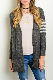 Very J Knit Cardigan Sweater - Product Mini Image