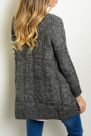 Very J Knit Cardigan Sweater - Front full body