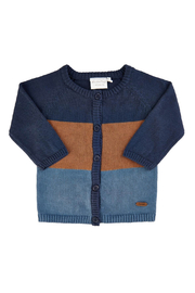 Minymo Knit Cardigan - Indigo Blue - Product Mini Image