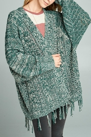 hummingbird Knit-Cardigan With Fringes - Product Mini Image