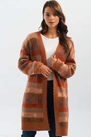 Charlie B. Knit Cardigan with Pockets - Front full body