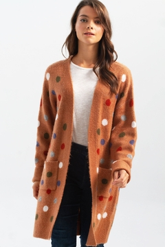 Charlie B. Knit Cardigan with Pockets - Product List Image