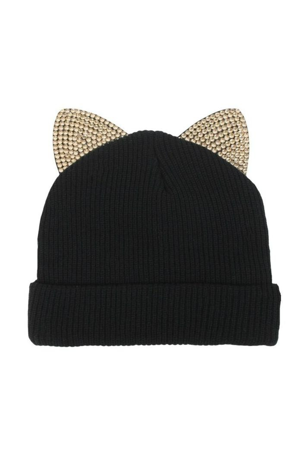 david and young Knit Cat Beanie - Main Image