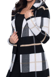 Frank Lyman Knit cover up sweater - Product Mini Image