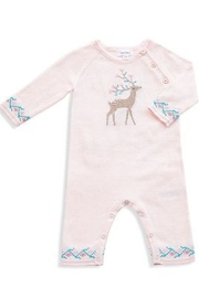 Angel Dear Knit Deer Coverall - Front cropped