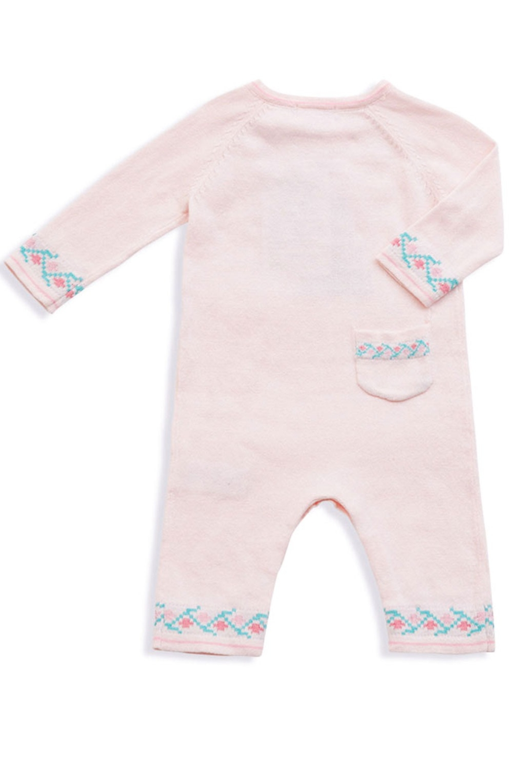 Angel Dear Knit Deer Coverall - Front Full Image