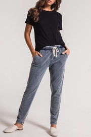 z supply Knit Denim Jogger - Front cropped
