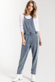 z supply Knit Denim Overall - Product Mini Image