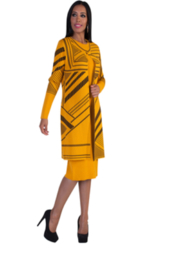 Tally Taylor Knit Dress - Product Mini Image