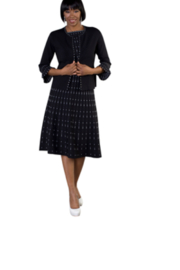 Tally Taylor Knit Dress Set - Product Mini Image