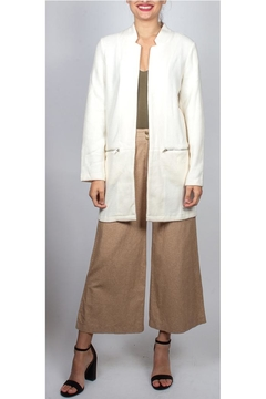 Shoptiques Product: Knit Duster-Jacket Ivory