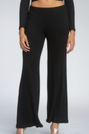 Elan  Knit Flare Pants - Front cropped