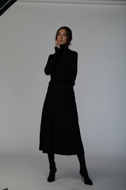 Meli by FAME KNIT FLARED SKIRT 29 - Product Mini Image